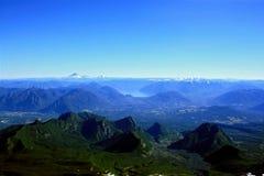 λίμνη περιοχής της Χιλής Στοκ εικόνες με δικαίωμα ελεύθερης χρήσης