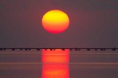 Λίμνη Ποντσαρτρέιν Στοκ φωτογραφίες με δικαίωμα ελεύθερης χρήσης