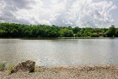 Λίμνη ποταμών Στοκ Εικόνες