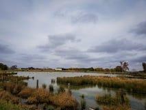 Λίμνη πουθενά Στοκ φωτογραφία με δικαίωμα ελεύθερης χρήσης