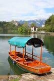 Λίμνη που αιμορραγείται, Σλοβενία Στοκ φωτογραφίες με δικαίωμα ελεύθερης χρήσης