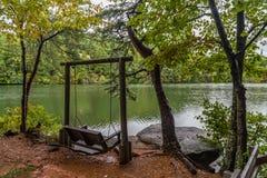 Λίμνη πτώσεων Tallulah στοκ εικόνες