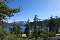 Λίμνη σολομών - Αϊντάχο Στοκ εικόνα με δικαίωμα ελεύθερης χρήσης