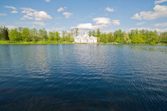 λίμνη σπιτιών Στοκ Εικόνα