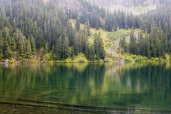 Λίμνη στα βουνά Στοκ Φωτογραφία