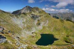 Λίμνη στα βουνά Fagaras Στοκ Εικόνες