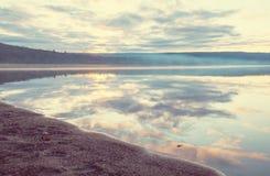 Λίμνη στην Αλάσκα Στοκ Φωτογραφίες