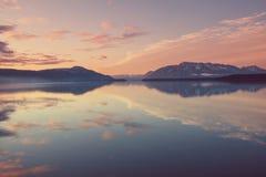 Λίμνη στην Αλάσκα Στοκ φωτογραφίες με δικαίωμα ελεύθερης χρήσης