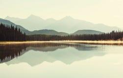 Λίμνη στην Αλάσκα Στοκ Εικόνες