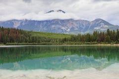 Λίμνη στην ιάσπιδα Στοκ εικόνες με δικαίωμα ελεύθερης χρήσης