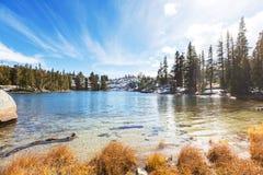 λίμνη στην οροσειρά Νεβάδα Στοκ Εικόνα