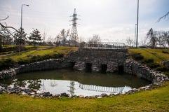 Λίμνη στην πόλη Στοκ φωτογραφίες με δικαίωμα ελεύθερης χρήσης
