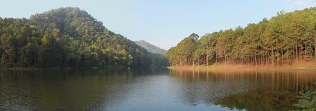 Λίμνη στην Ταϊλάνδη Στοκ Εικόνα
