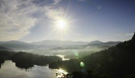 Λίμνη στη Μαλαισία Στοκ εικόνα με δικαίωμα ελεύθερης χρήσης