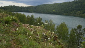 Λίμνη στη Σιβηρία στοκ φωτογραφία με δικαίωμα ελεύθερης χρήσης