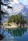 Λίμνη στη χώρα Kananaskis - Αλμπέρτα - Καναδάς Στοκ φωτογραφία με δικαίωμα ελεύθερης χρήσης