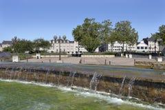 Λίμνη στη Angers στη Γαλλία Στοκ Φωτογραφίες