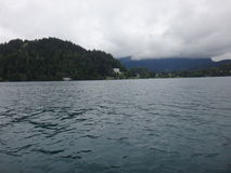 Λίμνη στο βουνό Στοκ Φωτογραφίες