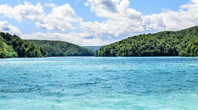 Λίμνη στο εθνικό πάρκο Plitvice Στοκ εικόνες με δικαίωμα ελεύθερης χρήσης