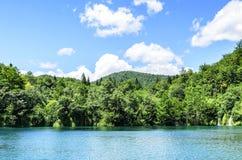 Λίμνη στο εθνικό πάρκο Plitvice Στοκ φωτογραφίες με δικαίωμα ελεύθερης χρήσης