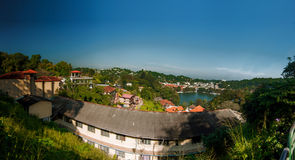 Λίμνη στο κέντρο Kandi Σρι Λάνκα Στοκ φωτογραφίες με δικαίωμα ελεύθερης χρήσης