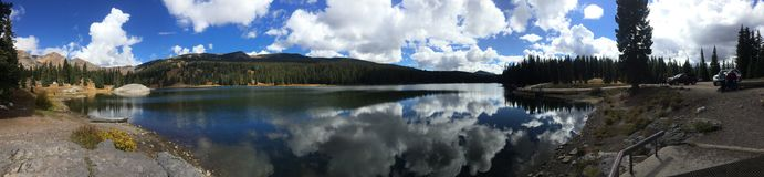Λίμνη στο Κολοράντο στοκ φωτογραφία με δικαίωμα ελεύθερης χρήσης