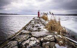 Λίμνη Συρακούσες Νέα Υόρκη Onondaga Στοκ φωτογραφία με δικαίωμα ελεύθερης χρήσης
