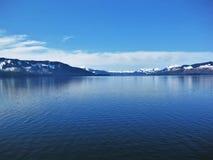 Λίμνη της Αλάσκας Στοκ Φωτογραφία