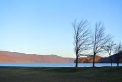 Λίμνη της Ιαπωνίας Στοκ εικόνες με δικαίωμα ελεύθερης χρήσης