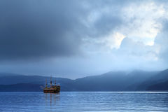 λίμνη της Ιαπωνίας hakone Στοκ Εικόνες