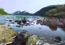 λίμνη της Ιορδανίας Στοκ εικόνες με δικαίωμα ελεύθερης χρήσης