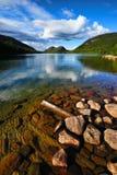 Λίμνη της Ιορδανίας Στοκ Εικόνες