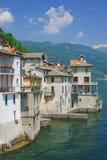 λίμνη της Ιταλίας como brienno Στοκ Φωτογραφία