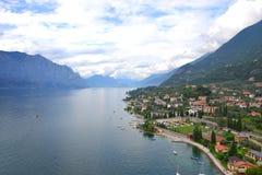 λίμνη της Ιταλίας garda Στοκ Εικόνες