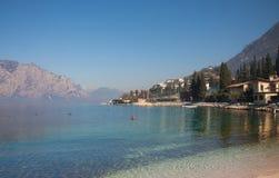 λίμνη της Ιταλίας garda Στοκ εικόνες με δικαίωμα ελεύθερης χρήσης