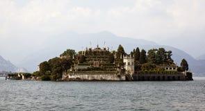 λίμνη της Ιταλίας isola bella maggiore Στοκ Φωτογραφία