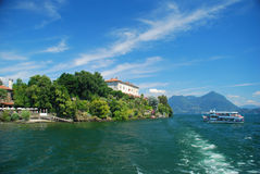 λίμνη της Ιταλίας isola madre maggiore στοκ φωτογραφίες
