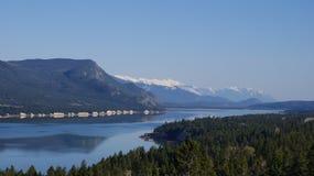λίμνη της Κολούμπια στοκ φωτογραφία με δικαίωμα ελεύθερης χρήσης