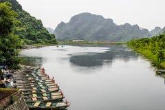 Λίμνη της Νίκαιας στο Βιετνάμ Στοκ φωτογραφία με δικαίωμα ελεύθερης χρήσης