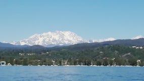 Λίμνη της όμορφης άποψης Como στοκ φωτογραφίες