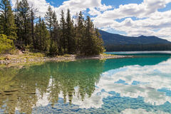 Λίμνη της Annette, Καναδάς στοκ εικόνες