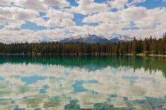 Λίμνη της Annette, Καναδάς στοκ φωτογραφία