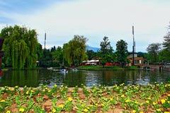 Λίμνη της Ariana, Sofia Βουλγαρία Στοκ Εικόνα