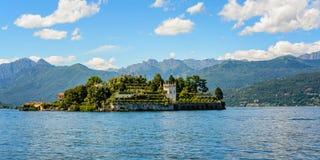 Λίμνη της Bella Maggiore Islad Στοκ εικόνα με δικαίωμα ελεύθερης χρήσης