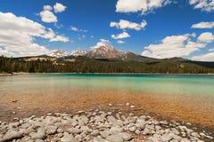 Λίμνη της Edith, εθνικό πάρκο ιασπίδων, Αλμπέρτα, Καναδάς στοκ εικόνα με δικαίωμα ελεύθερης χρήσης