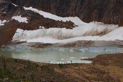 Λίμνη της Edith Cavell Στοκ Φωτογραφία