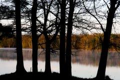 Λίμνη του βόρειου Wisconsin στοκ εικόνα με δικαίωμα ελεύθερης χρήσης