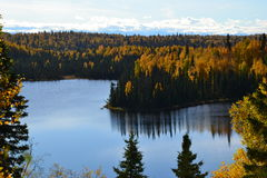 Λίμνη του Νανσύ του Anchorage στοκ φωτογραφίες με δικαίωμα ελεύθερης χρήσης