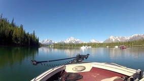 Λίμνη του Τζάκσον στα βουνά Teton φιλμ μικρού μήκους