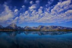 λίμνη του Τζάκσον στοκ εικόνες με δικαίωμα ελεύθερης χρήσης